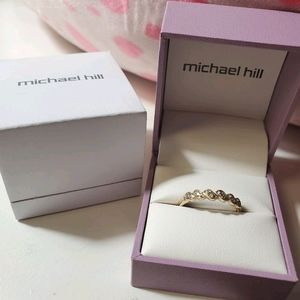 Michael Hill Ring 10k with Diamonds